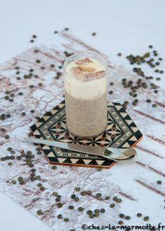 Cappuccino de lentilles à la fourme d'Ambert – Marmotte cuisine !