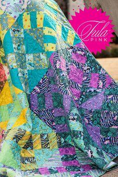 Designer Tidbits: Tula Pink - Fat Quarter Shop's Jolly Jabber