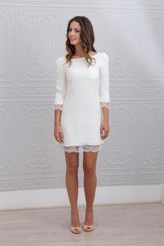 Короткое свадебное платье Dress 4383