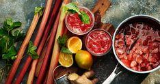 Rhubarb & ginger lemonade | Recipe from Santa Maria