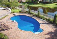 14 best vinyl pools in ground luxury swimming pools images swimming pool construction vinyl - Luxury above ground pools ...