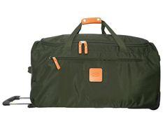 Bric's Luggage X-Bag 28 Inch Rolling Duffle, Olive, One Size Bric's $209.00 http://smile.amazon.com/dp/B008TXJXHQ/ref=cm_sw_r_pi_dp_VFu9ub1VDSKKE