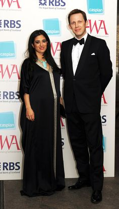 Princess Badiya Bint El Hassan and Khaled Edward Blair