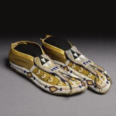 Cheyenne Beaded Hide Youth's