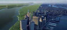 """Ecologist Eric Sanderson carefully re-envisioned what New York looked like in 1609, when it was called Mannahatta, """"Island of many hills,"""" by Native Americans. Now, he has launched the Welikia Project, to do the same for New York City's other four boroughs."""