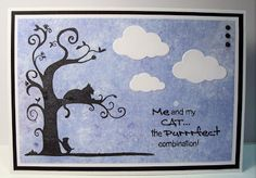 Using 'The Purrfect Combination' stamp set