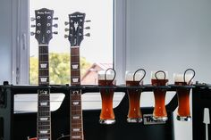 Beer and gear: The best Guitar holder ever!  ;-) #cases #thon #guitar #beer #gear #fun #funny #music #stuff