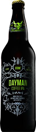 Stone Collaborations: Aleman/Two Brothers/Stone DayMan Coffee IPA #stonebrewing