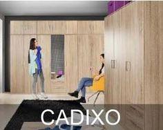 Kolekcja Cadixo to system szaf. Znajdziemy tu szafy odpowiednie do garderoby, sypialni czy przedpokoju. Szafy dostępne są w dwóch wersjach kolorystycznych. Do wyboru mamy dekor Dąb Sonoma lub połączenie Dębu piaskowego z Białym połyskiem. Basketball Court, Sports, Hs Sports, Sport