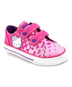 Another great find on #zulily! Hello Kitty Pink Joy Sneaker by Hello Kitty #zulilyfinds