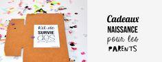 Cadeaux naissance idéal pour les parents ! Kit de survie pour jeunes parents BY FPMMAGNET