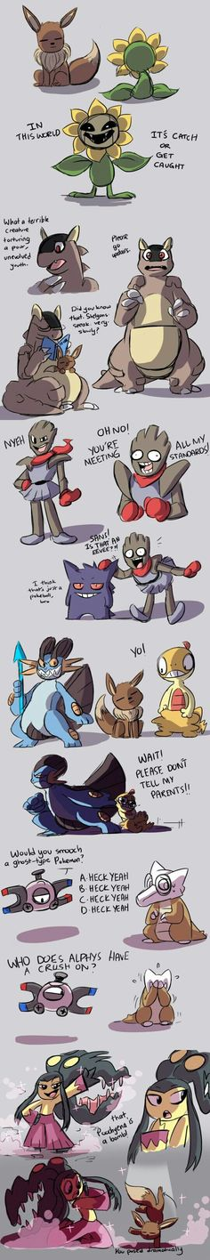 Mawile shoulda been Mega in the last panel