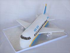 Airplane Cake by springlakecake, via Flickr