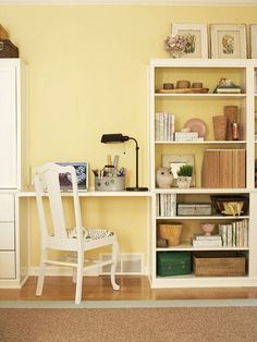 Centsational Girl » Blog Archive Small Space Solutions: Home Offices - Centsational Girl