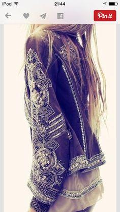 intricate jacket