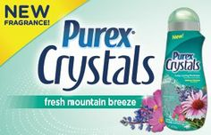 Coolestmommy's Coolest Thoughts - Enter to win a free bottle of Purex Crystals at www.coolestmommy.com. Ends 2/28/14