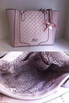 2ee2ba7951 Guess rose powder frosty pink tote shopper handbag purse New!  110.0 Guess  Purses
