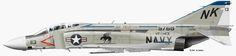 F-4 VF33 | Mc.Donnell Douglas F-4 Phantom 2 | USA | VF-143, US Navy | F-4J-34-MC ...