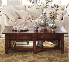 Interior Decorating by Potterybarn Living Room Interior Decorating ...