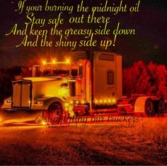 On fb supporting our truckers.           www.facebook.com/supportingourtruckers