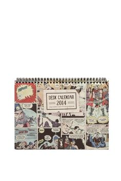 2014 desk calendar COMIC