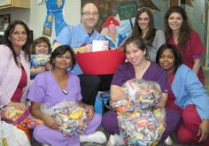 Halloween Candy Buy Back - local dentists offering prizes/cash for excess halloween candy, then to be donated to create military care packages and such