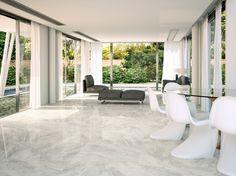 Great value for money light grey marble effect ceramic floor tile ideal as a kitchen floor tile. click the image or link for more info. Modern Flooring, Kitchen Flooring, Flooring Ideas, Nairobi, Mosaic Shower Tile, Mosaic Art, Grey Marble Tile, Italian Marble Flooring, Buy Tile