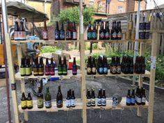 Brothers of Beer Train Station, Car Parking, Wine Rack, Beer, Home Decor, Root Beer, Bottle Rack, Ale, Decoration Home