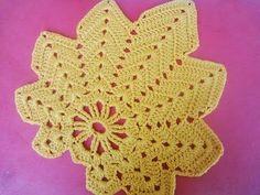 Кленовый лист Часть 1 The maple leaf Crochet Part 1 Crochet Leaf Patterns, Crochet Leaves, Form Crochet, Crochet Chart, Crochet Motif, Crochet Designs, Crochet Flowers, Thanksgiving Crochet, Crochet Fall
