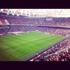 would be great to see the stadium where Finnish stars like Litmanen and Moisander have played. Soccer Stadium, Football Stadiums, Football Soccer, Afc Ajax, Soccer Pictures, European Football, Netherlands, Places Ive Been, Opportunity