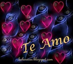 Imagenes De Rosas con 2 corazones | ... de amor con frases te amo con dibujos de corazones rojos y rosas