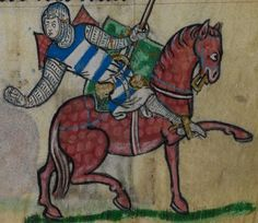 Detail from medieval manuscript, British Library Stowe MS 17 'The Maastricht Hours', f80r