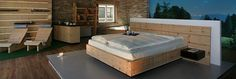 Alpine Pine Cirmolo wood (swiss stone pine), quality of sleep, no stress, relax,  antimagnetiche room.