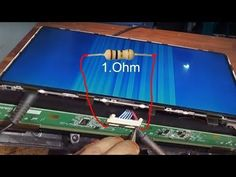 How To Repair LED LCD TV Panel '' By White Color picture 100% Solution এলিডি প্যানেল মেরামত বাংলাদেশ - YouTube Electronic Circuit Design, Electronic Engineering, Sony Led Tv, Lcd Television, Tv Panel, Lg Tvs, Led Board, Electronic Schematics, Tv Display