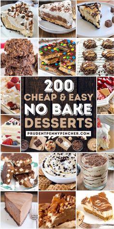 Easy Gluten Free Desserts, Easy Desserts, Delicious Desserts, Yummy Food, Icebox Desserts, Summer Dessert Recipes, Desert Recipes, Best Summer Desserts, Summer Deserts