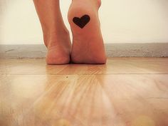 hidden. Oh my gosh!! I never thought about the bottom of your foot!!! It wouldn't hurt... But how long would it last??