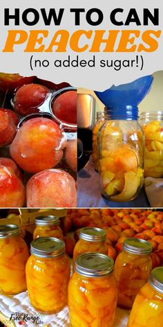 Home Canning Recipes, Canning Tips, Cooking Recipes, Canning Peach Recipes, Canning Food Preservation, Preserving Food, Preserving Peaches, Canning Peaches, Canning Vegetables