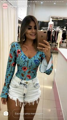 Cute Outfits With Shorts, 30 Outfits, Cute Casual Outfits, Short Outfits, Stylish Outfits, Summer Outfits, Fashion Outfits, Curvy Girl Fashion, Boho Fashion