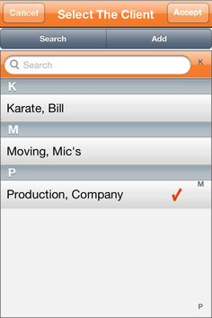 #OddJobs #App Screenshot To Select A Repeat Client