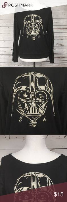 Star Wars Darth Vader Off Shoulder Black Top Star Wars Darth Vader Off Shoulder Black Top. Size medium. Ask me anything! Star Wars Tops Tees - Short Sleeve