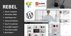 Rebel - Minimal Portfolio WordPress Theme