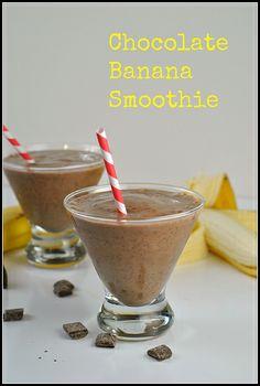 Chocolate Banana Smoothie 1 by preventionrd, via Flickr