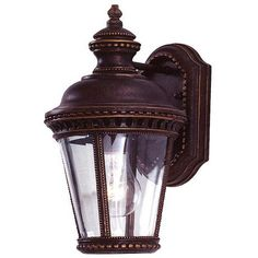 """Castle Collection 11 1/3"""" High Outdoor Wall Light"""