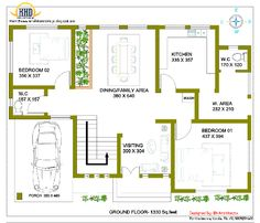 Gallery of Kerala home design, floor plans, elevations, interiors designs and other house related products Mini House Plans, House Plans 2 Storey, 2 Storey House Design, Unique House Plans, Model House Plan, Indian House Plans, Duplex House Design, Duplex House Plans, Bedroom House Plans
