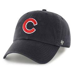 9c08f9121 Chicago Cubs  47 C Clean Up Adjustable Hat - Navy