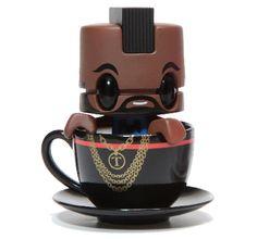 Mr. T saliendo de una taza de té: Mr. Tea