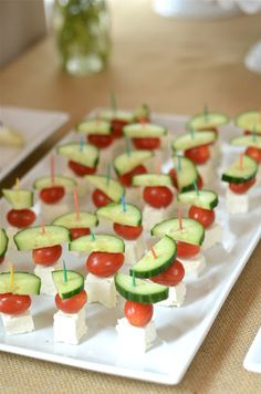 {an easy app - feta, tomato and cucumber skewers}