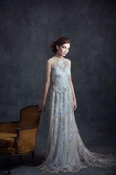 Elegantes vestidos de novias | Coleccion Ángel Gótico