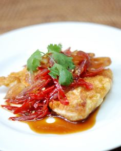 Indochine Kitchen » Sweet Sour and Spicy Fried Eggs