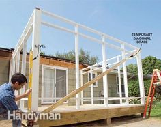 http://www.familyhandyman.com/garden-structures/screen-porch-construction/view-all